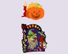 Halloween - Embroidered Sticker Pack