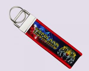 Tigerland-Embroidery + Sublimation Key Chain