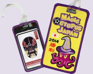 2014 Japan Football Embroidered Luggage Tags (Bus Pass Or Stored Value Card Holder)