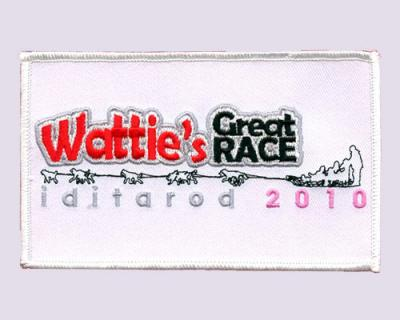 Wattie's Great Race Embroidered Patches