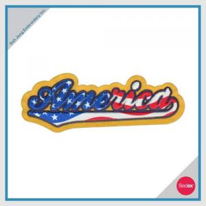 3D Embroidery Patch(America)