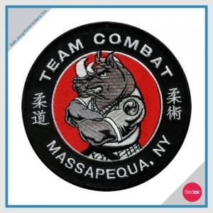 POLICE EMBROIDERY PATCH - TEAM COMBAT MASSAPEQUA. NY