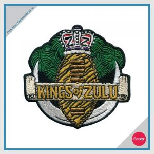 EMBROIDERY PATCH - KINGS OF ZULU