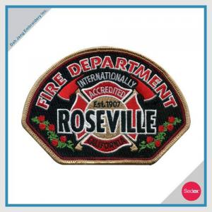 EMBROIDERY PATCH - ROSEVILLE