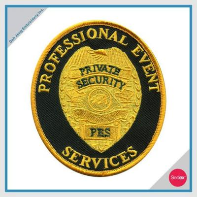 POLICE EMBROIDERY PATCH - PROFESSIONAL EVENT SERVICES