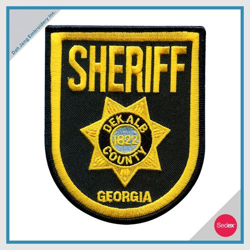 POLICE EMBROIDERY PATCH - SHERIFF GEORGIA