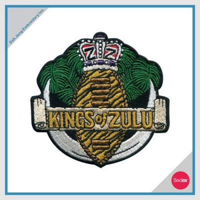 刺繡臂章 - KINGS OF ZULU