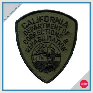 POLICE EMBROIDERY PATCH - CALIFORNIA DEPARTMENT OF CORRECTIONS & REHABILITATION EUREKA