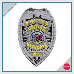 POLICE EMBROIDERY PATCH - POLICE OFFICER GLENDALE WIS.