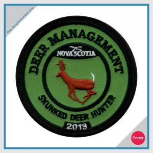 POLICE EMBROIDERY PATCH - DEER MANAGEMENT SKUNKED DEER HUNTER