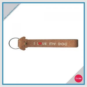 Embroidery Key Chain - I LOVE MY DOG