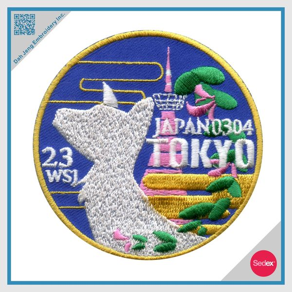 Embroidery Patch - Customized Patch - Tokyo Patch