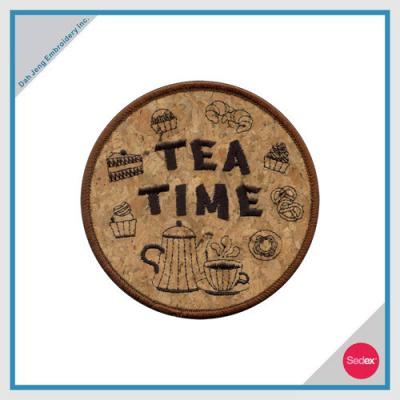 Embroidery Coaster - TEA TIME