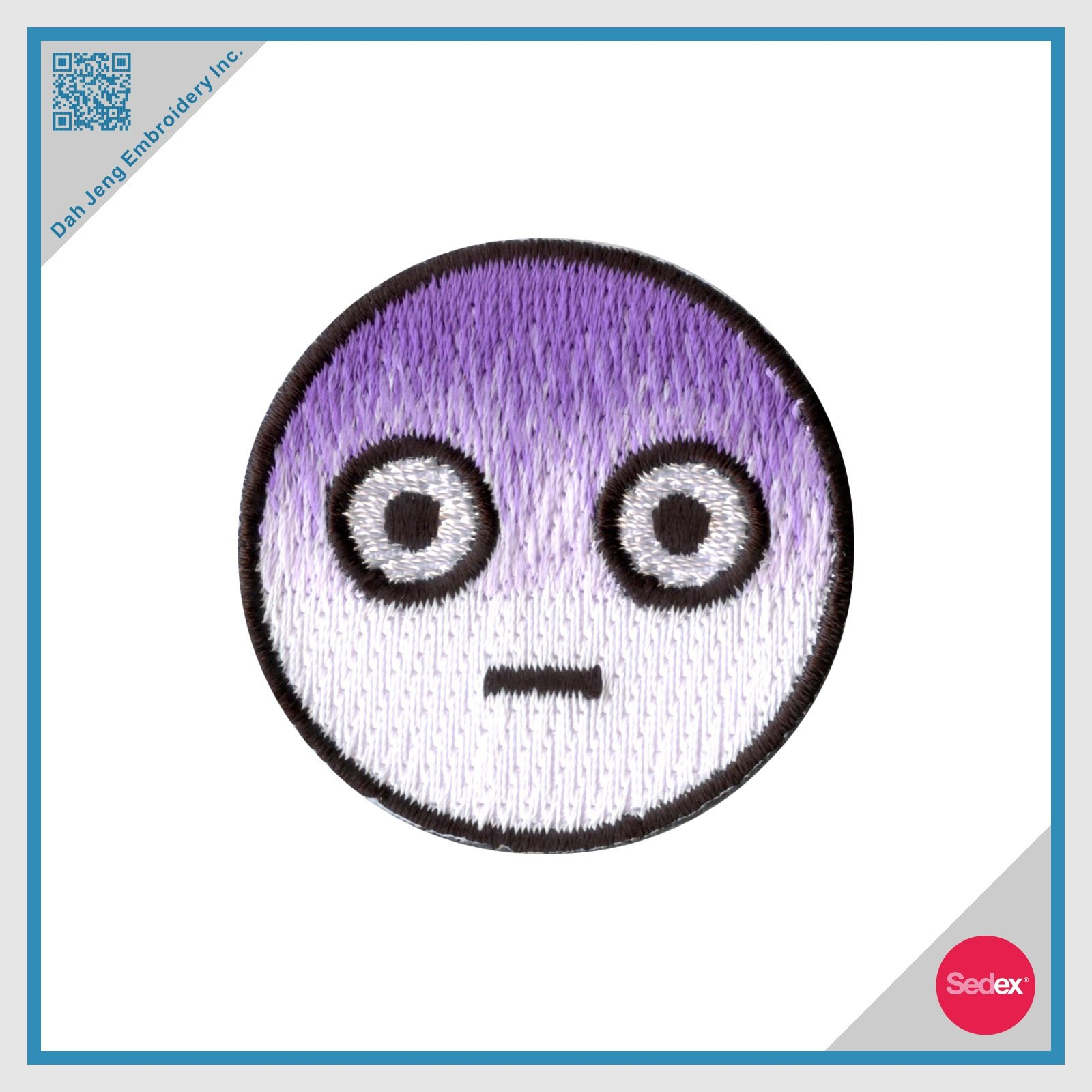 Embroidery Patch - Moji